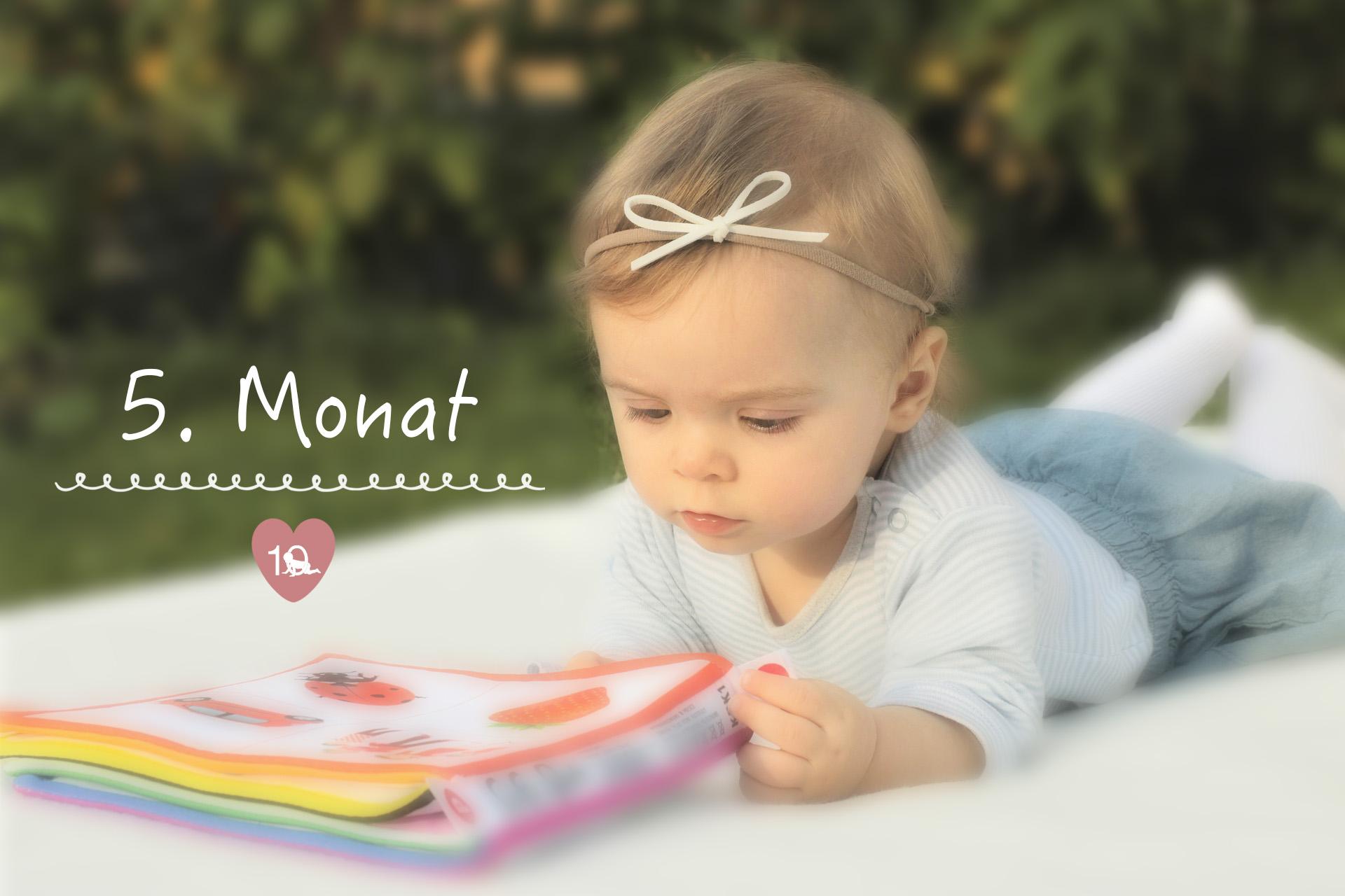 f3e10cf6ba2 Das Baby im 5. Monat - alles über Babys Entwicklung im 5. Lebensmonat