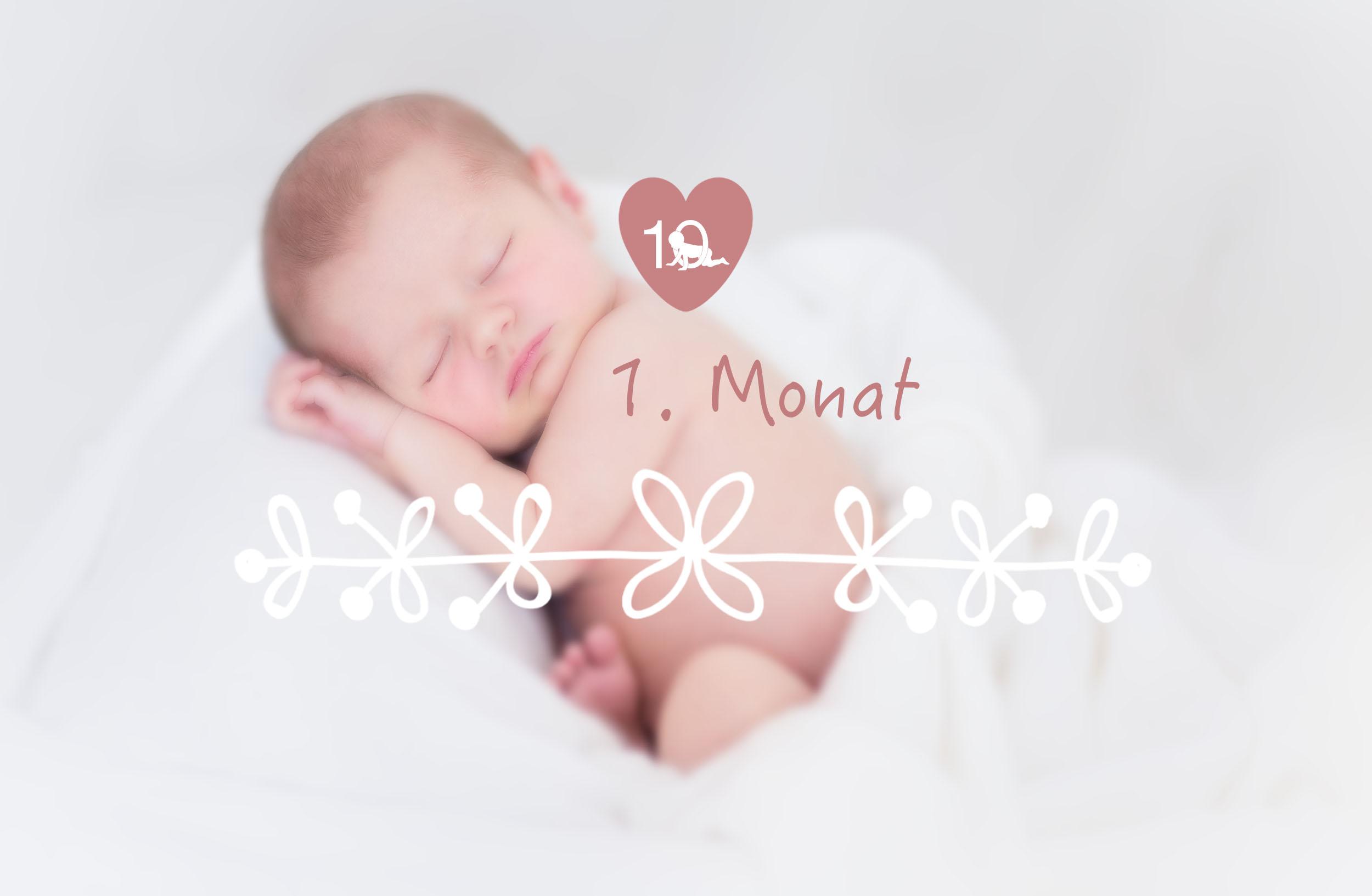 Das Baby im 1. Monat - alles über Babys Entwicklung im 1. Lebensmonat